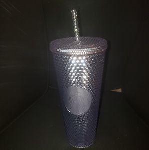 New Starbucks Silver Studded Tumbler 24 oz.
